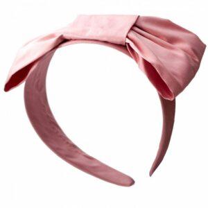 Hårbøjle - gl. rosa sløjfe