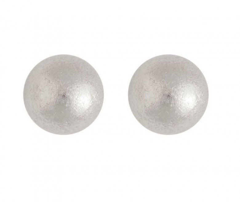 Matterede sølvkugler